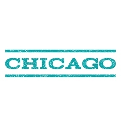 Chicago watermark stamp vector