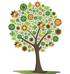 Trees of luck vector