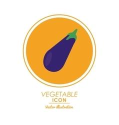 Eggplant icon healthy food design graphic vector