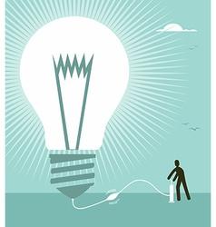 Big idea concept vector