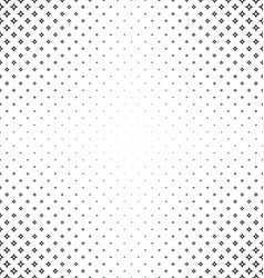 Black and white curved star pattern background vector