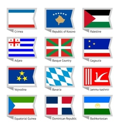 Flags of world-18 vector