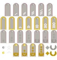German army insignia vector image vector image