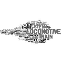 Locomotion word cloud concept vector