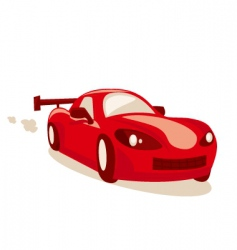 race car vector image vector image