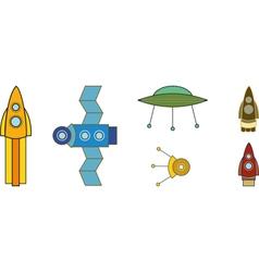 Spaceships vector