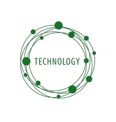 Logo technology vector