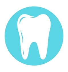 Tooth logo for dental company vector