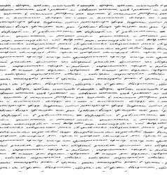 Handwriting seamless background vector