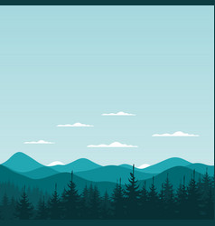 Mountain nature6 vector