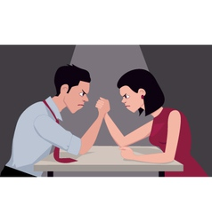 Armwrestling vector