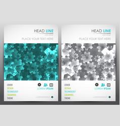 brochure design template cover presentation vector image, Presentation templates