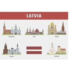 Latvia vector