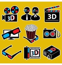 movie devices vector image vector image