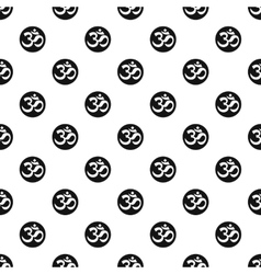 Ohm symbol pattern simple style vector