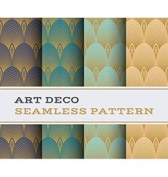 Art deco seamless pattern 14 vector