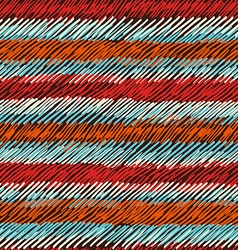 Boho seamless pattern striped vintage background vector