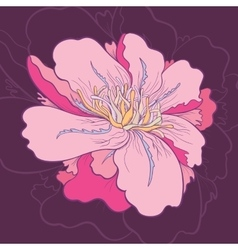 Creative Flower vector image vector image