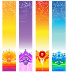 design banners vector image