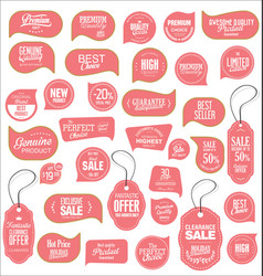 modern sale stickers collection 9 vector image vector image