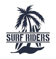 surf design vector image