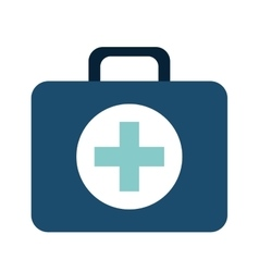 Medical kit isolated icon design vector