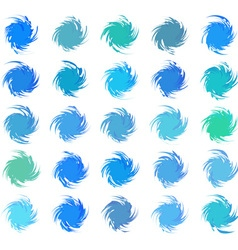 Abstract color pattern vector image vector image