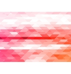 Bright triangles abstract background vector