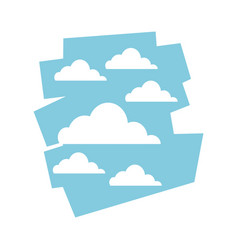 Cloud sky day view heaven image vector