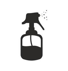 hairdressing dispenser bottle vector image vector image