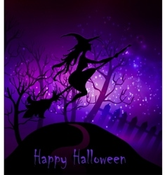 Happy Halloween Greeting vector image