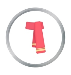 Scarf icon of for web and vector