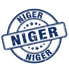Niger stamp vector