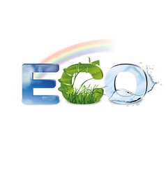 Ecology Eco-icon vector image vector image