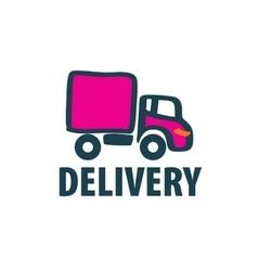 logo trucking vector image
