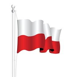 Poland flag vector