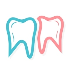 Tooth logo for dental clinic vector