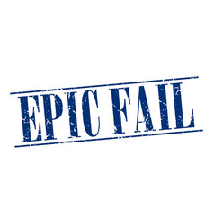 Epic fail vector