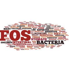 Fos text background word cloud concept vector