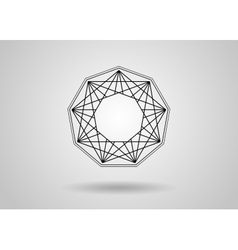 Social network graphic concept abstract background vector