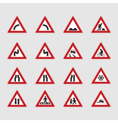 Street signs vector image vector image