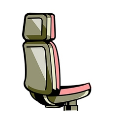 A view of chair vector