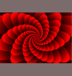 abstract spirals vector image