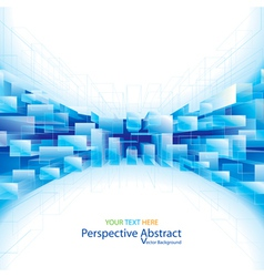 Perspective abstract background vector
