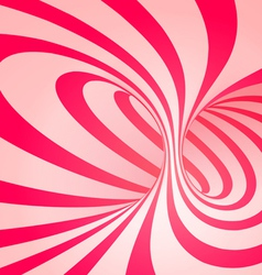 Candy cane spiral background vector
