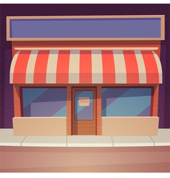 Cartoon store vector