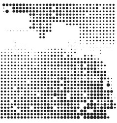 halftone comic background vector image vector image