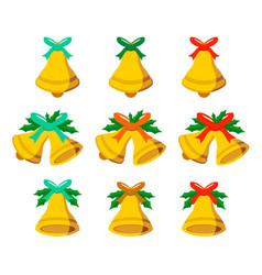 jingle bells set vector image