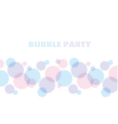 Blue and rose color abstract bubble vector