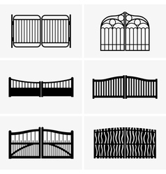 Gates vector image